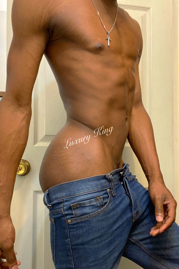 Hottest Black Gay Thug Escort LuxuryKing Boi for Rent Ad Hung Vers Bttm Freak